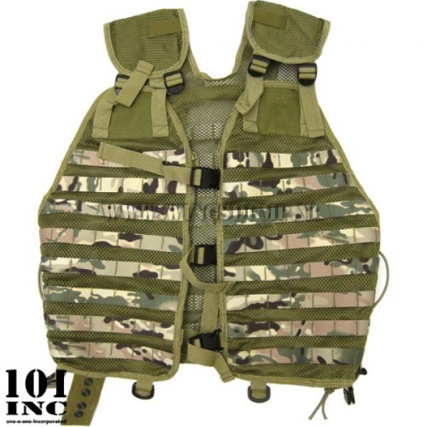 Tactical Molle vest mesh DTC camo