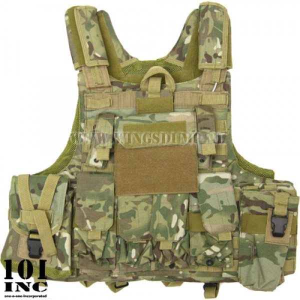 Tactical Molle Raptor vest multicamo