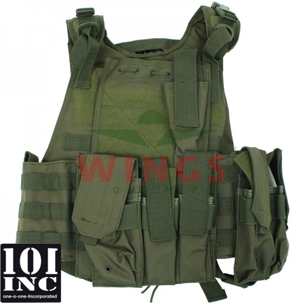 Tactical vest 101Inc. Titan hydro groen
