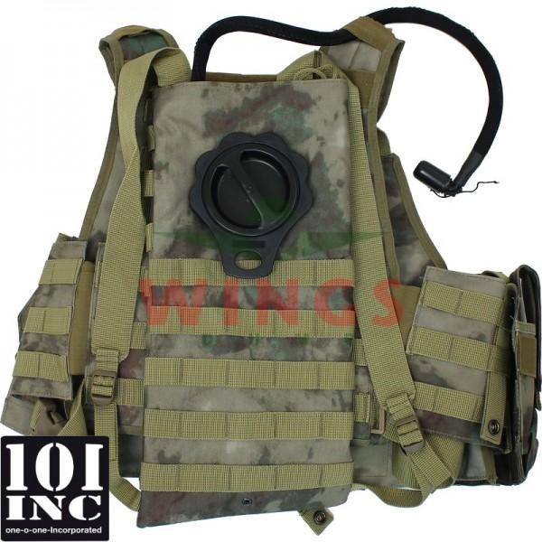 Tactical vest 101Inc. Titan hydro ICC arid urban