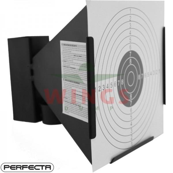 Schietkast staal Perfecta 17x17 cm