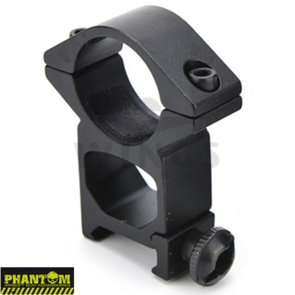Phantom scope mount los weaver hoog