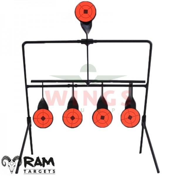Ram spinner target 5-targets steel
