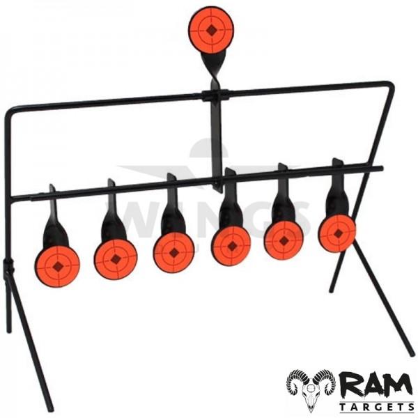 Ram spinner target 7-targets steel