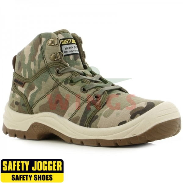 Safety Jogger Desert werkschoen multicamo