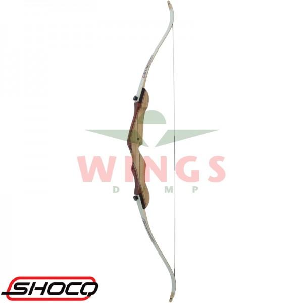 Handboog Shocq wood 34 lbs 68 inch