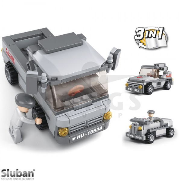 Sluban Army 3 in 1 troepentransport