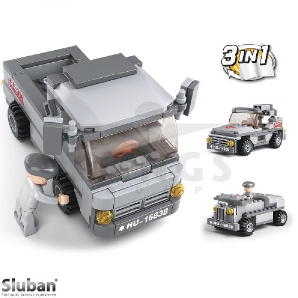 Sluban Army 3 in 1 troepentransport