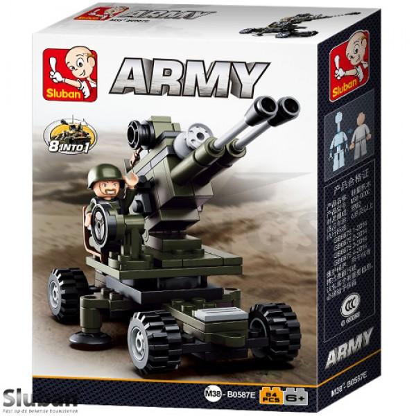 Sluban Army 8 into 1 Artillerie groen