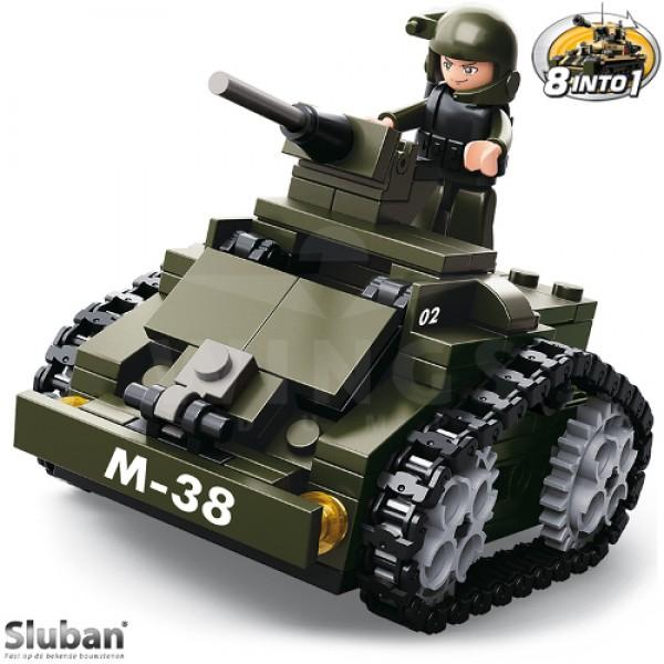 Sluban Army 8 into 1 Bewapend Voertuig