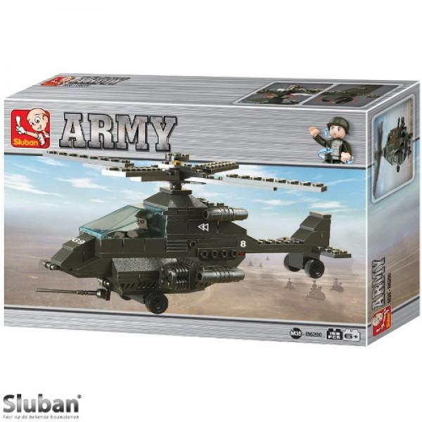 Sluban Apache Helicopter