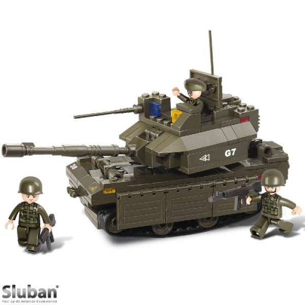 Sluban Abrams Tank