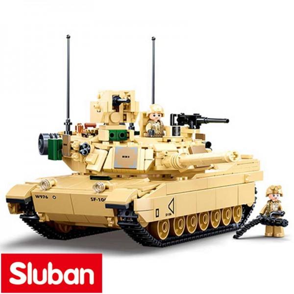 Sluban V2 Abrams Tank beige