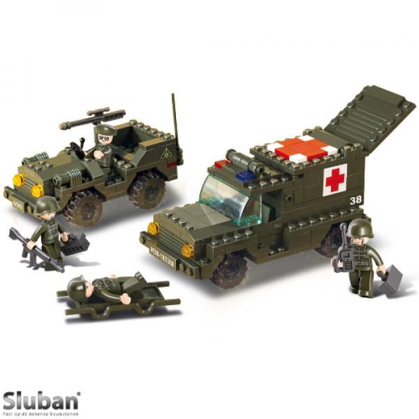 Sluban Ambulance En Jeep