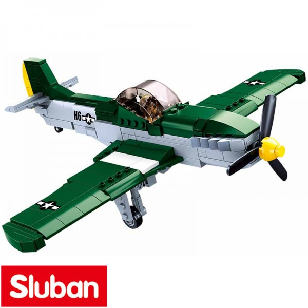 Sluban WW-II American Fighter