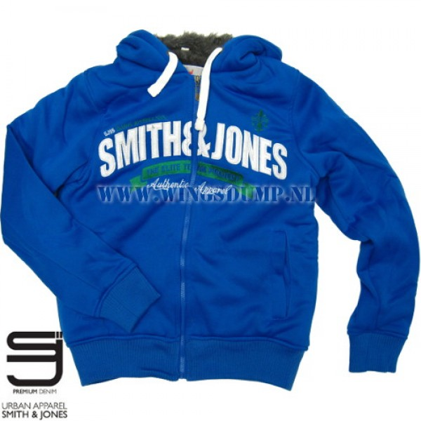 Hooded bontvest Smith and Jones Elite blue