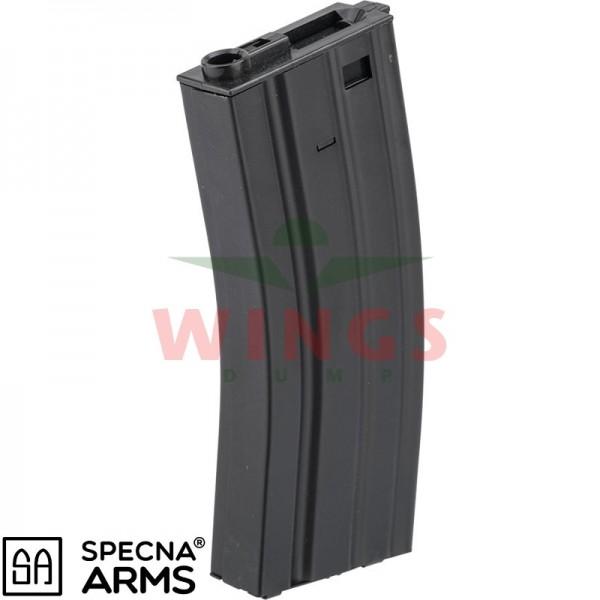 Specna Arms metal M4 hi-cap magazijn 300 rounds 5-pack