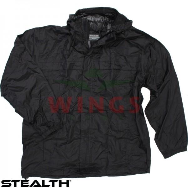 Regenjack Stealth ademend zwart