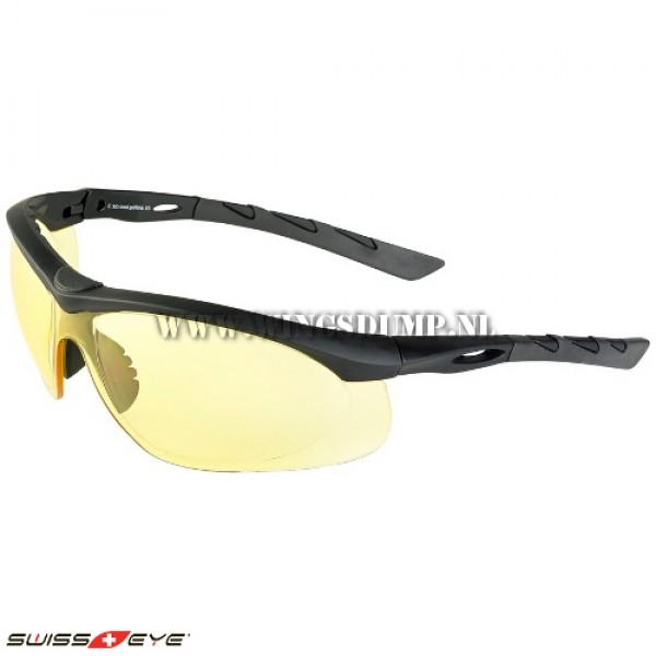 Swiss Eye Lancer bril yellow glasses