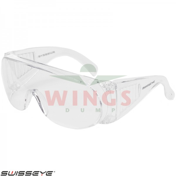 Swiss Eye S-1 overzetbril clear glasses