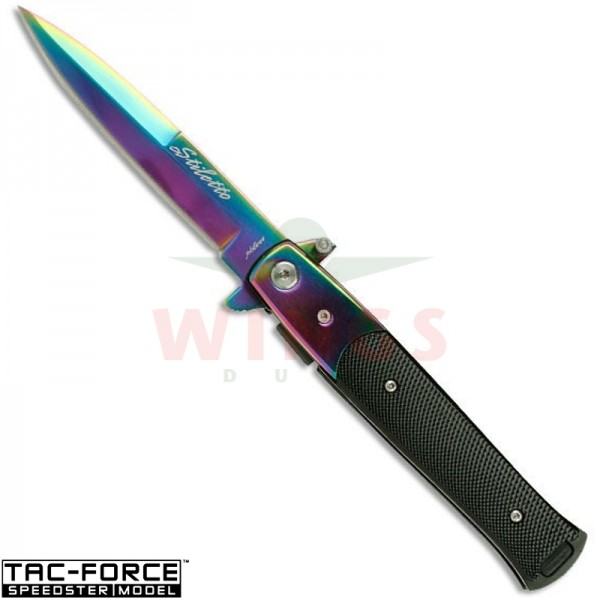 Tac-Force lockmes 183 mm slim rainbow