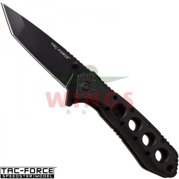 Tac-Force lockmes 195 mm tanto halfauto zwart