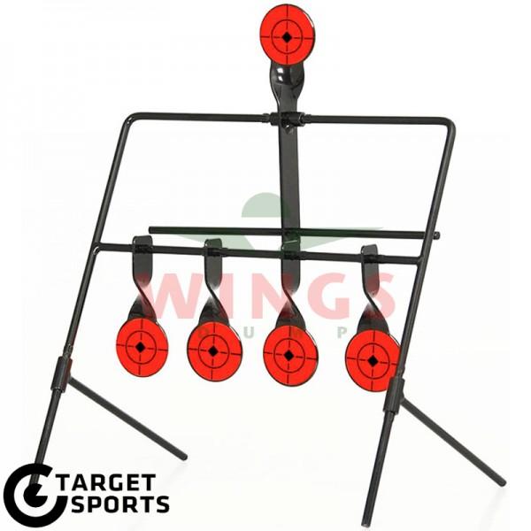 Spinner target met 5-targets steel