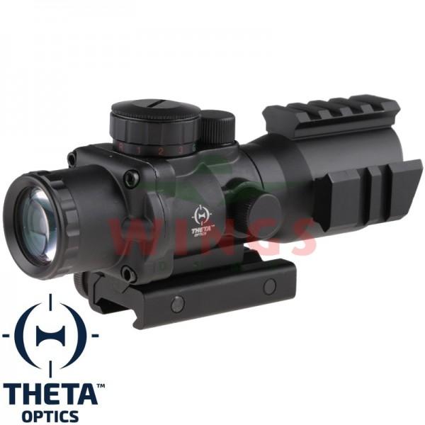 Theta Optics red/green/blue cross 4x32 m.m. scope