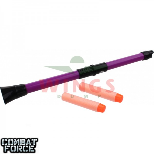 Speelgoed blowgun ninja 34 cm. paars