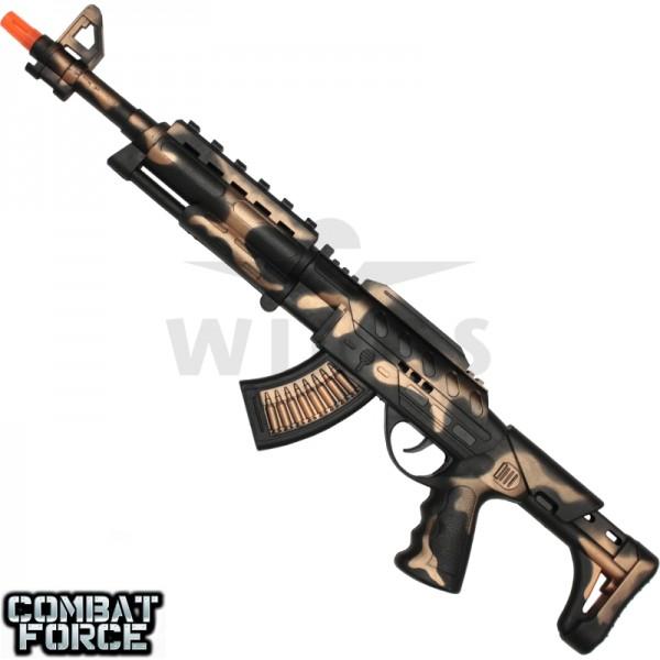 Speelgoed geweer AK-47 62 cm. black