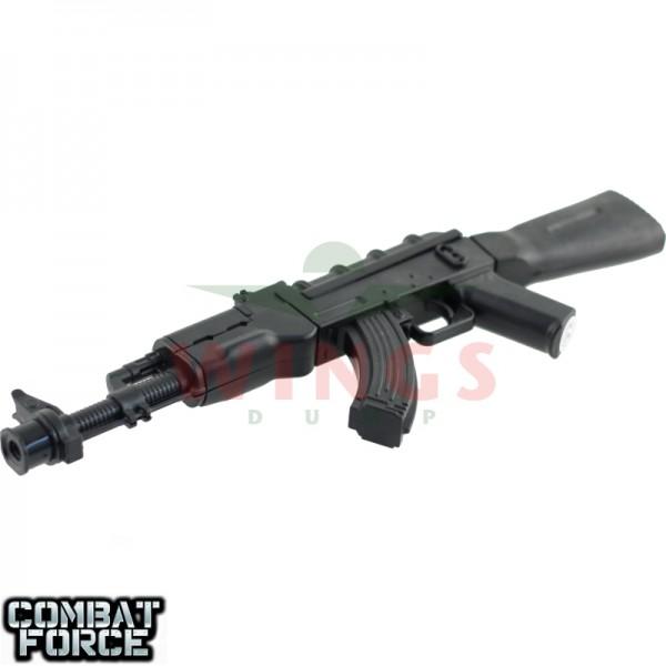 Speelgoed minigun AK-47 25 cm. metal