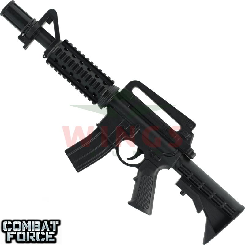 Speelgoed minigun M4 25 cm. metal