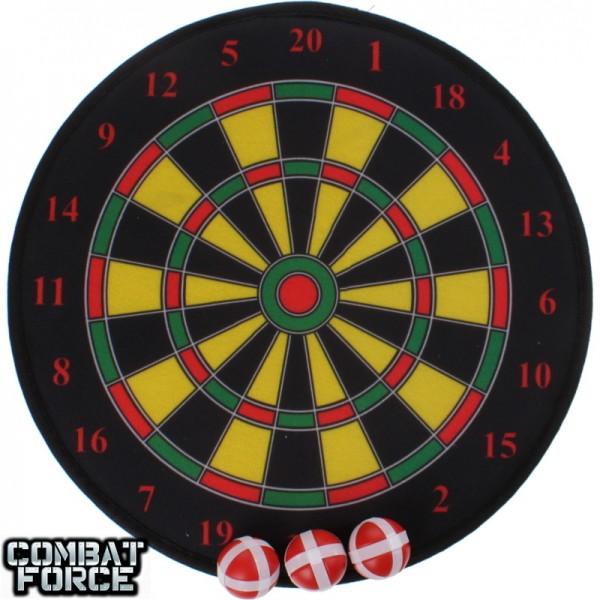 Speelgoed dartbord met klittenband darts