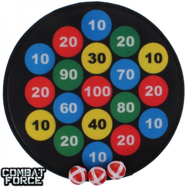 Speelgoed dartbord met klittenband rounds
