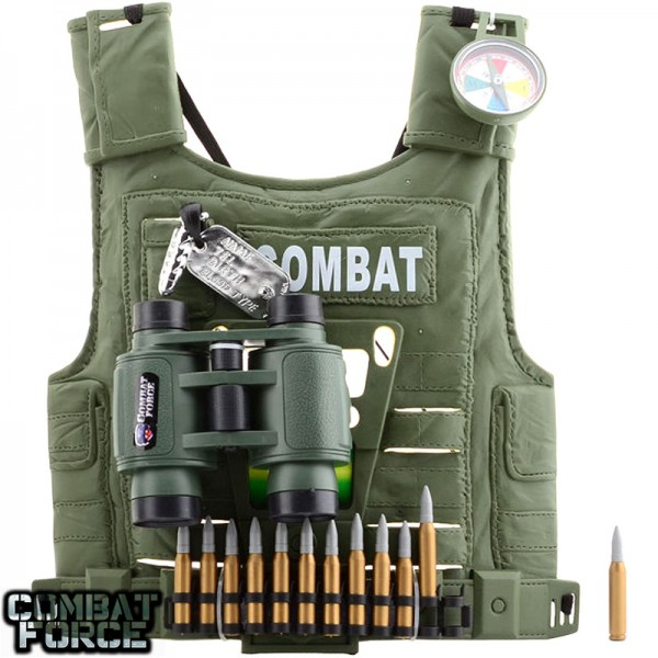 Speelgoed set Army soldier vest 5 in 1