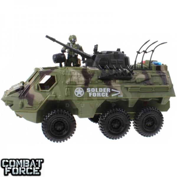 Speelgoed army set amfibietruck met soldier