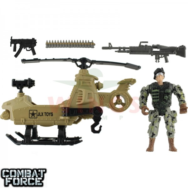 Speelgoed army set helicopter en G.I. Joe