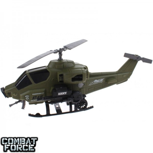 Speelgoed army set helicopter met soldier