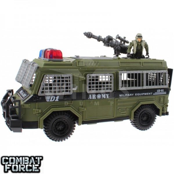 Speelgoed army set truck D1 met soldier