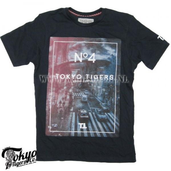 T-Shirt Tokyo Tigers no.4 midnight