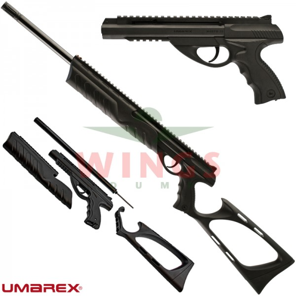 Umarex Morph co2 pistool en geweer set