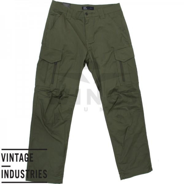 Vintage Industries Blyth Technical Pant olive
