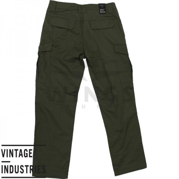Vintage Industries Blyth Technical Pant olive