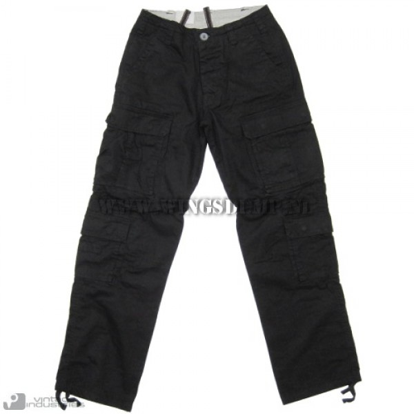 Vintage Industries Pack Pant zwart