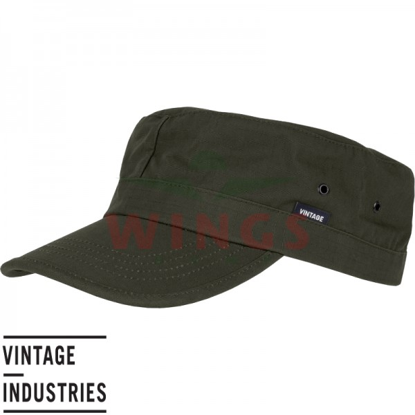 U.S. cap Vintage Industries dark olive