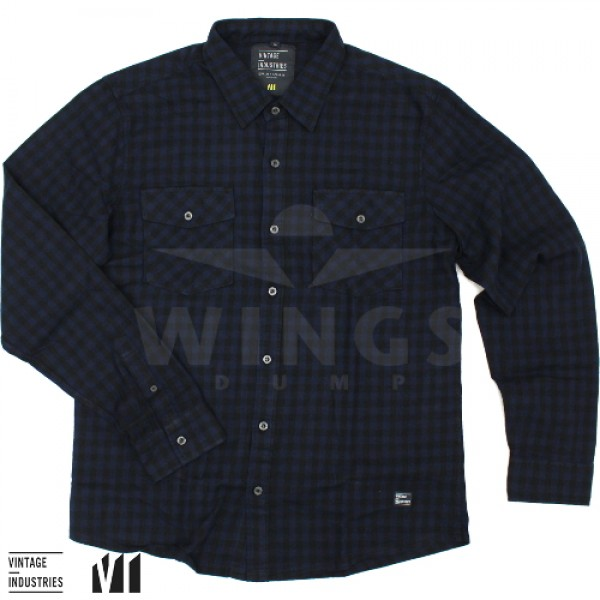 Vintage Harley shirt blue check