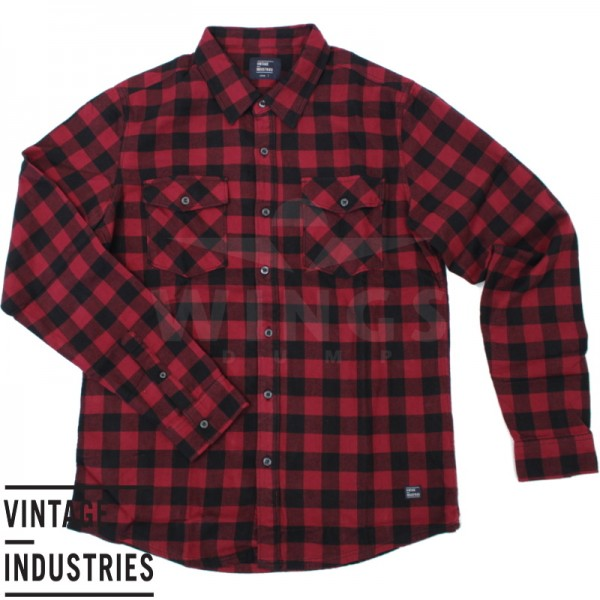 Vintage Harley shirt red check