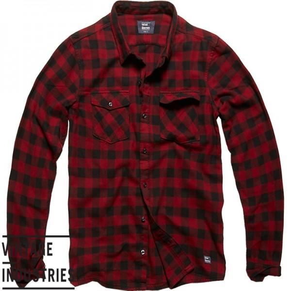 Vintage Harley shirt red check