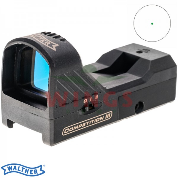 Walther green dotsight Competition III
