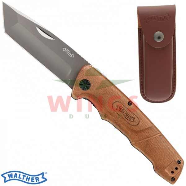 Walther Blue Wood Tanto lockmes